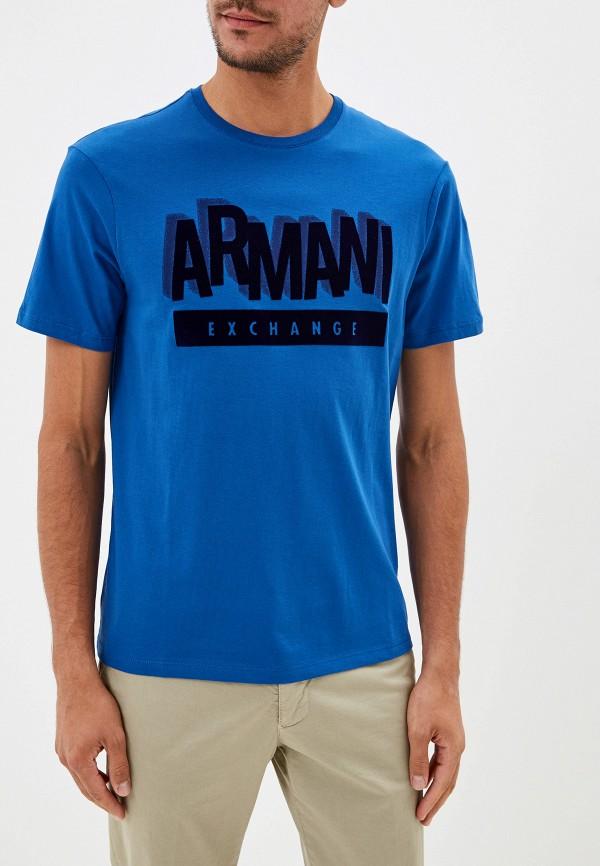 Футболка Armani Exchange Armani Exchange AR037EMFXNX5 футболка armani exchange armani exchange ar037emekfg5