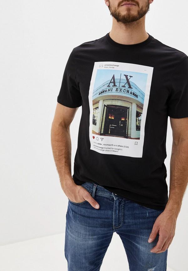 купить Футболка Armani Exchange Armani Exchange AR037EMFXOW3 по цене 4700 рублей