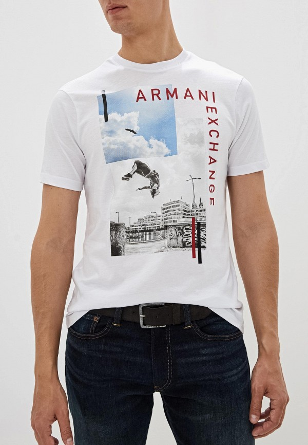 Футболка Armani Exchange Armani Exchange AR037EMFXOW5 цена