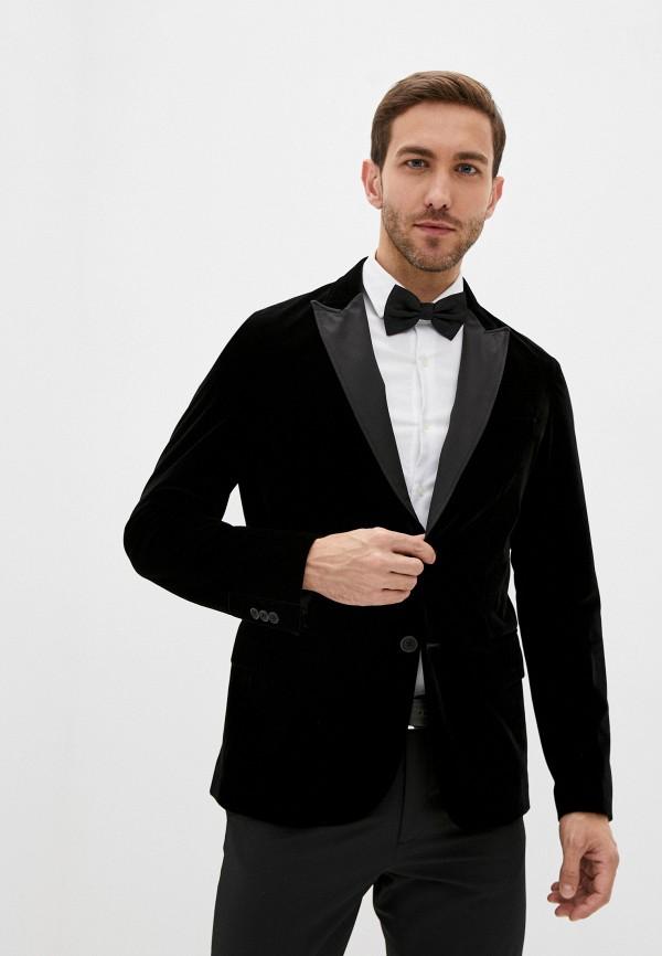 мужской пиджак armani exchange, черный
