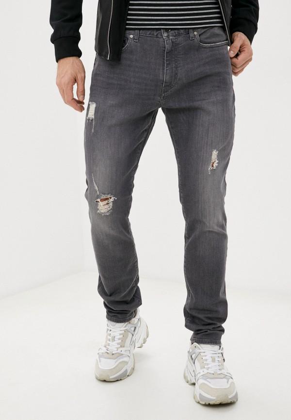 мужские прямые джинсы armani exchange, серые