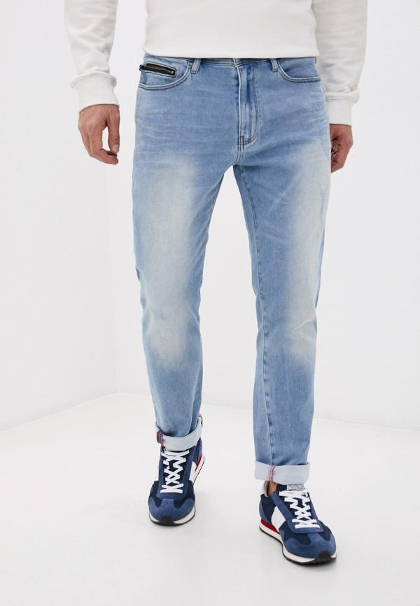 мужские прямые джинсы armani exchange, голубые