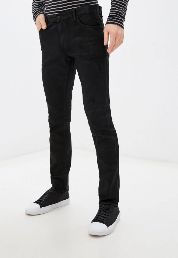мужские зауженные джинсы armani exchange, черные