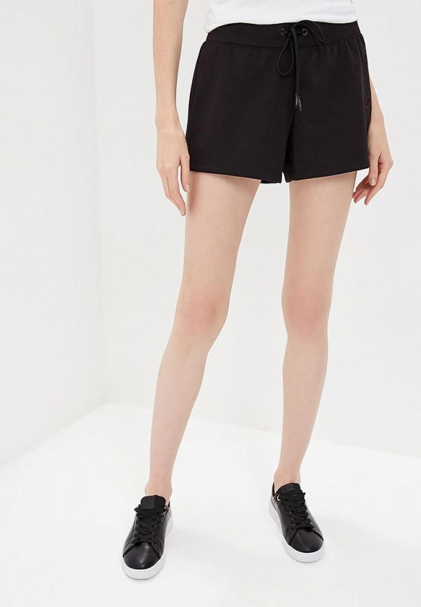 женские повседневные шорты armani exchange, черные