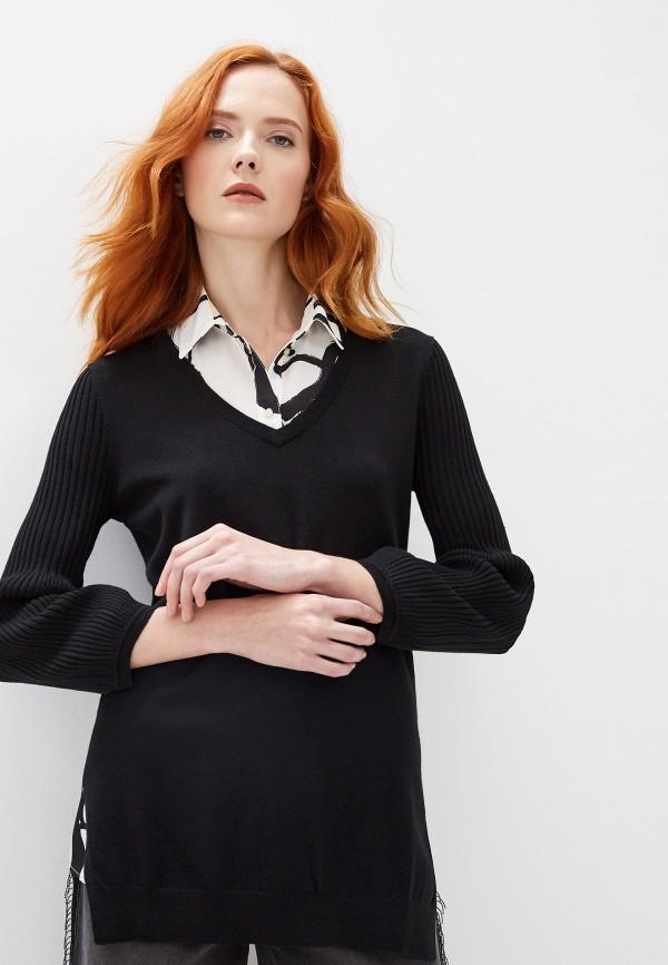 женский пуловер armani exchange, черный