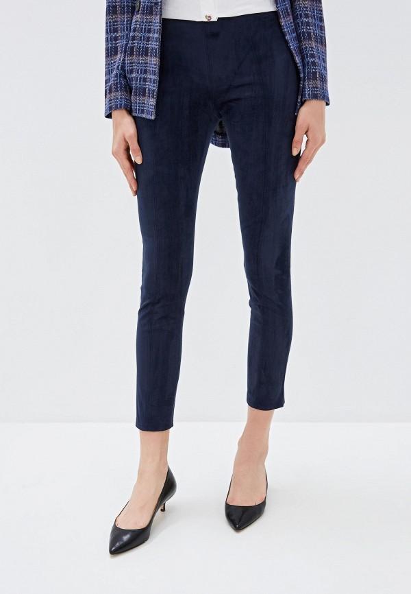 женские повседневные брюки armani exchange, синие