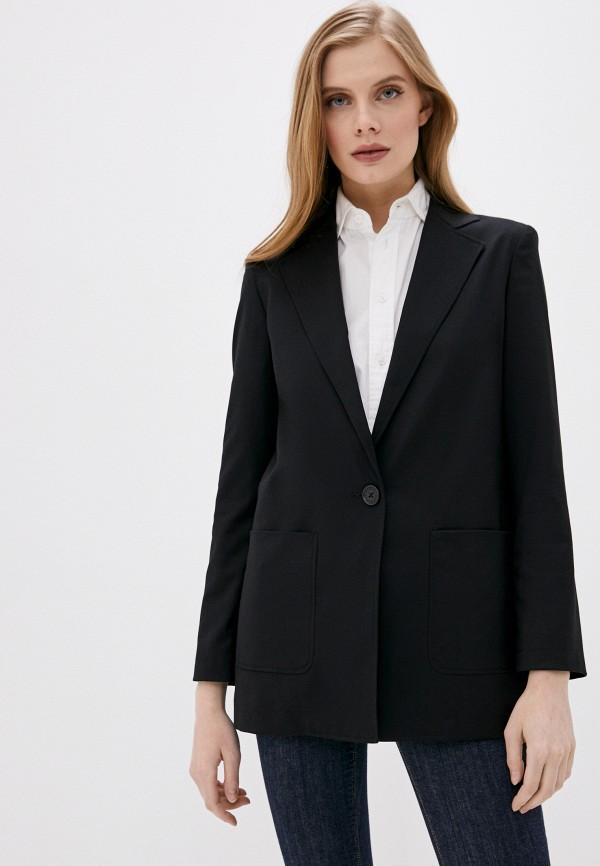 женский пиджак armani exchange, черный
