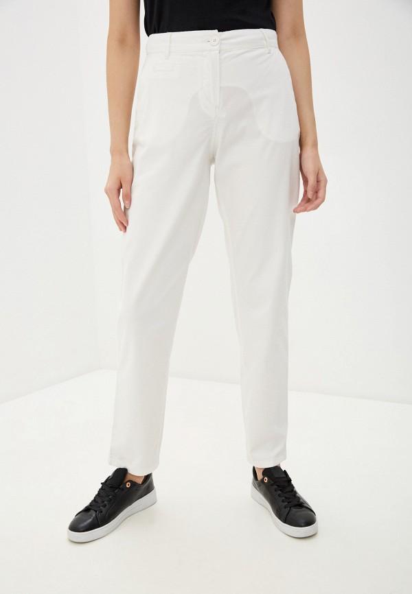 женские повседневные брюки armani exchange, белые
