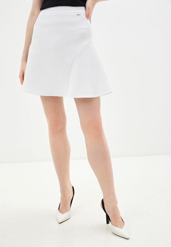 женская юбка armani exchange, белая