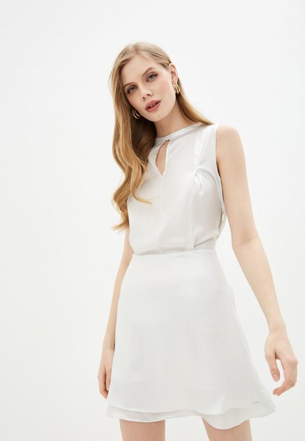 женское повседневные платье armani exchange
