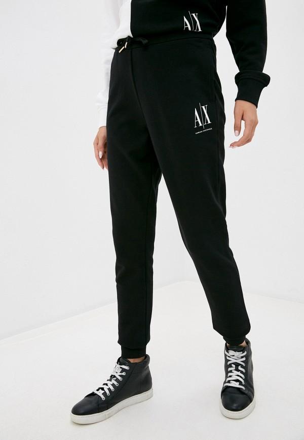 женские спортивные брюки armani exchange, черные