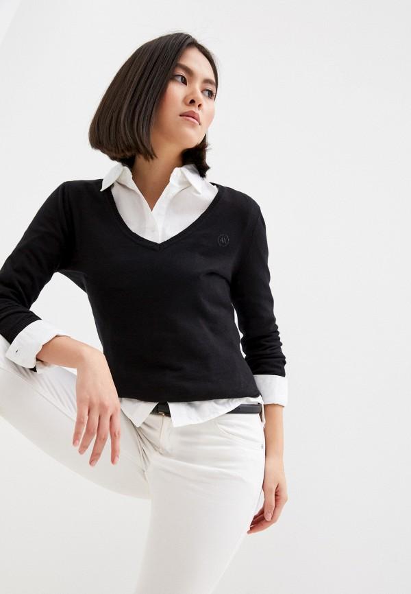 женский пуловер armani exchange, белый