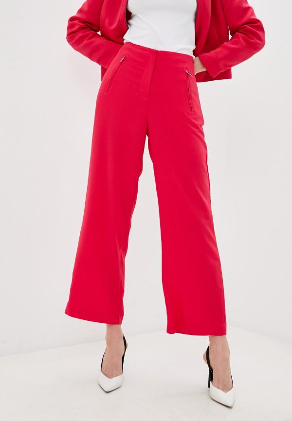 женские повседневные брюки armani exchange, розовые