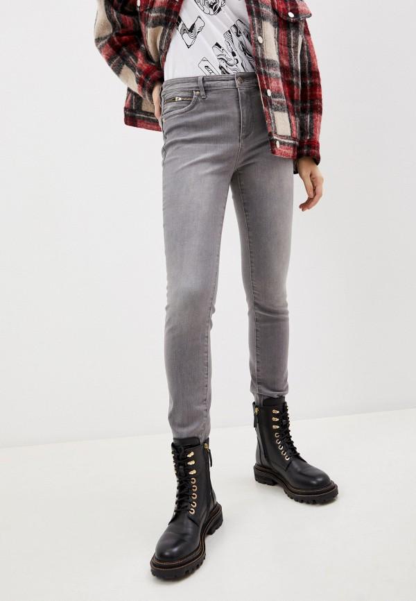 женские джинсы armani exchange, серые