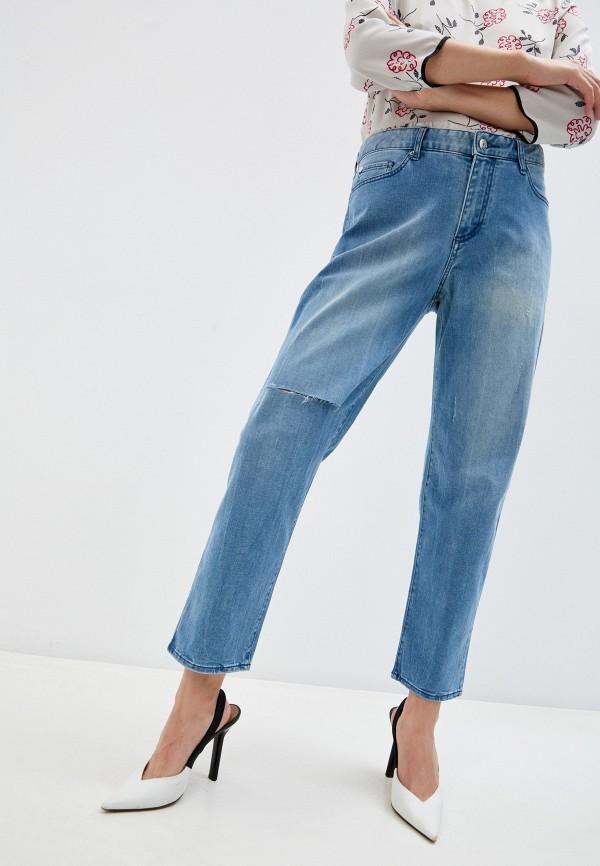 женские джинсы armani exchange, синие