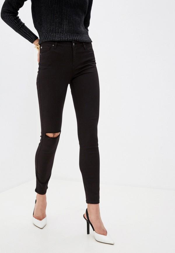 женские джинсы armani exchange, черные