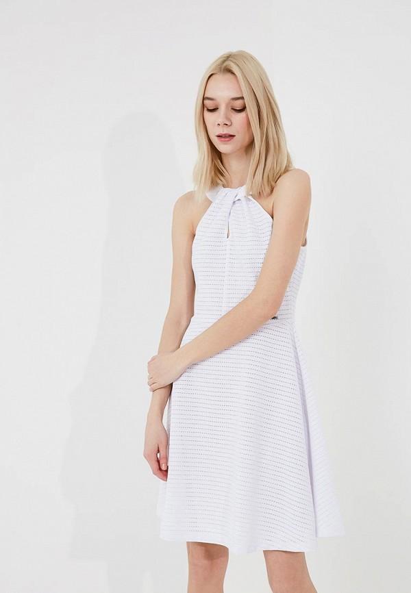 женское вечерние платье armani exchange, белое