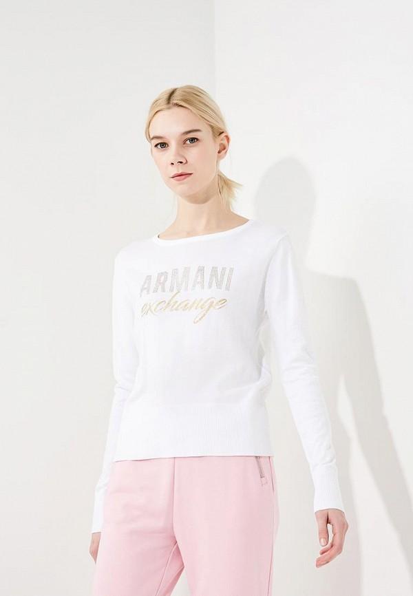 Купить Джемпер Armani Exchange, Armani Exchange AR037EWZSZ72, белый, Весна-лето 2018