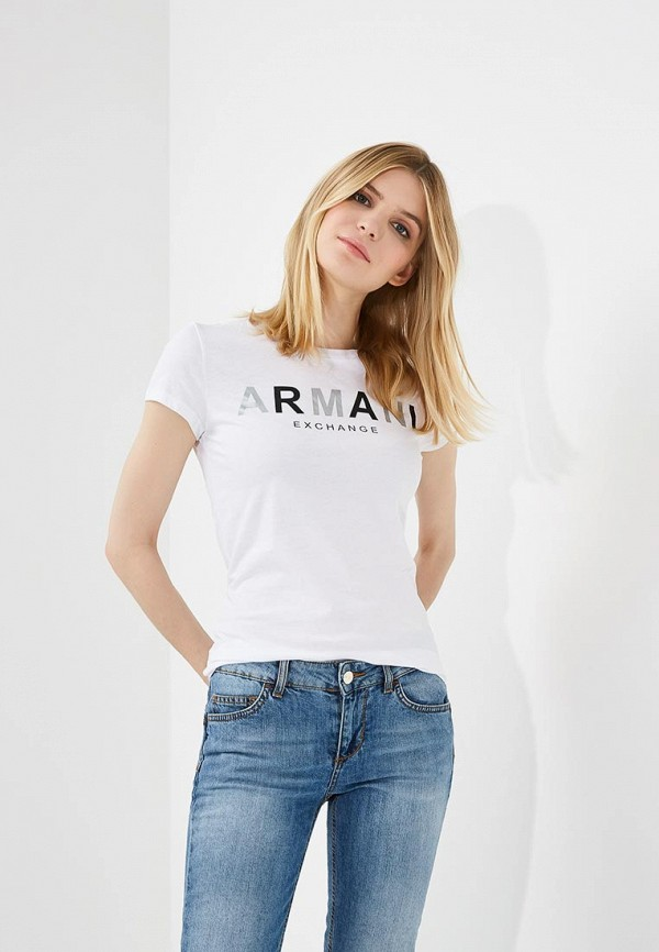 Футболка Armani Exchange Armani Exchange AR037EWZTA23 футболка armani exchange armani exchange ar037ewzta41