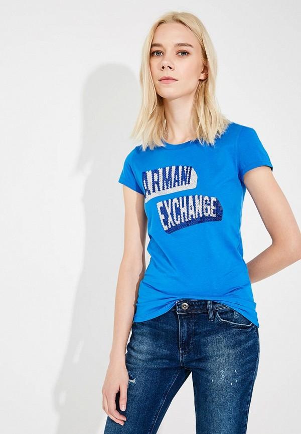 Футболка Armani Exchange Armani Exchange AR037EWZTA34 цена