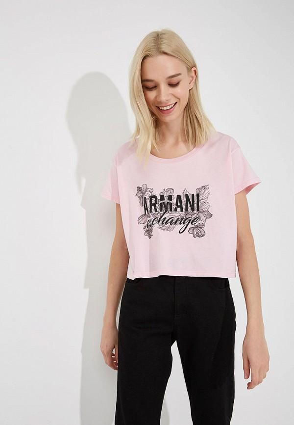 Футболка Armani Exchange Armani Exchange AR037EWZTA42 футболка armani exchange armani exchange ar037ewzta66