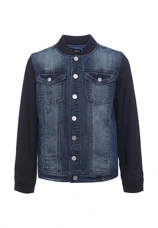 Куртка джинсовая Armani Junior Armani Junior AR038EBZZN75 куртка утепленная armani junior armani junior ar038egupk91