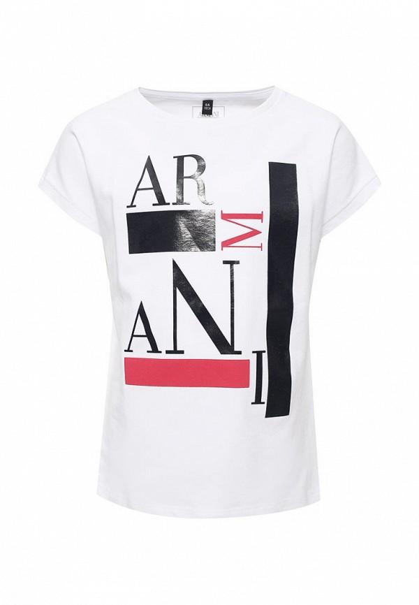 Футболка Armani Junior Armani Junior AR038EGZZN67 рубашка armani junior armani junior ar038ebzzn80