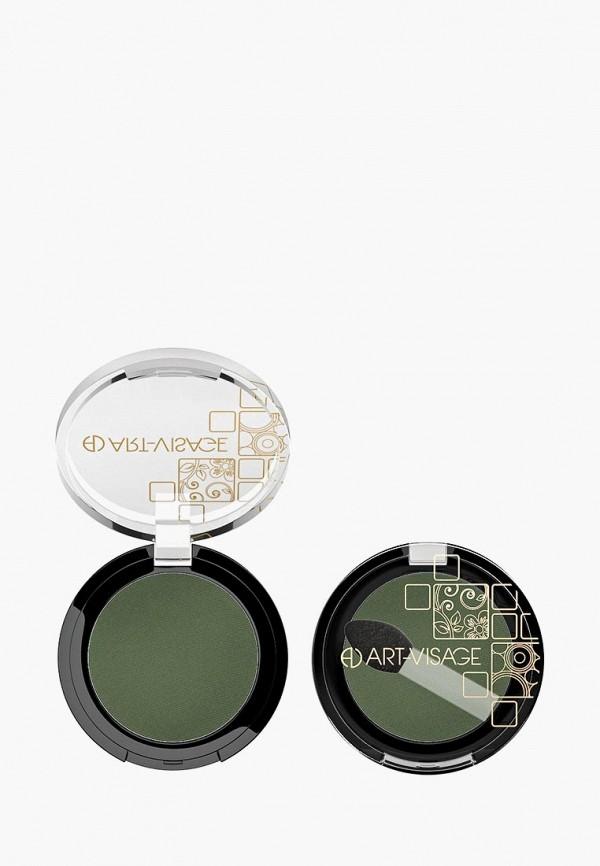 тени для век art-visage, зеленый