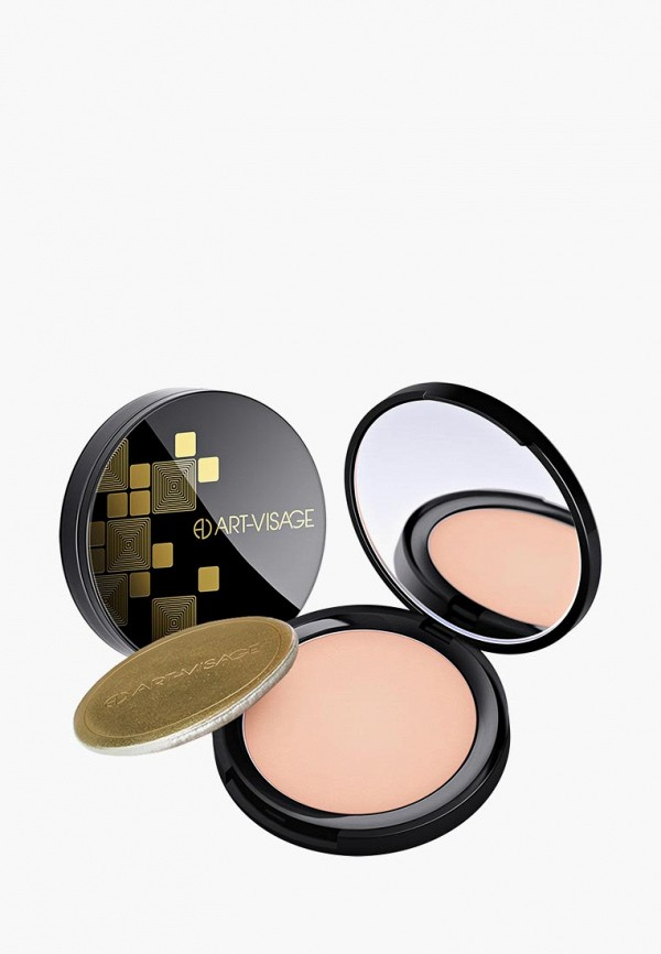 Купить Пудра Art-Visage, Perfect skin для жирной и комбинированной кожи, тон 06 темно-бежевый, ar044lwbgdm0, Весна-лето 2019