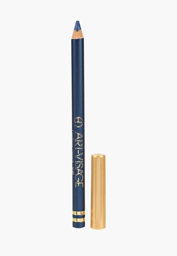 карандаш для глаз art-visage, синий