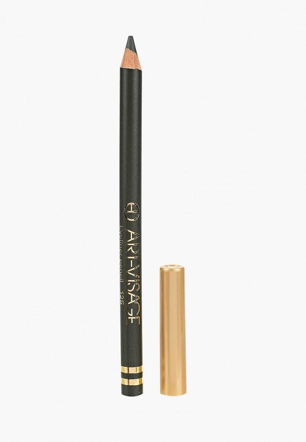 карандаш для глаз art-visage, хаки