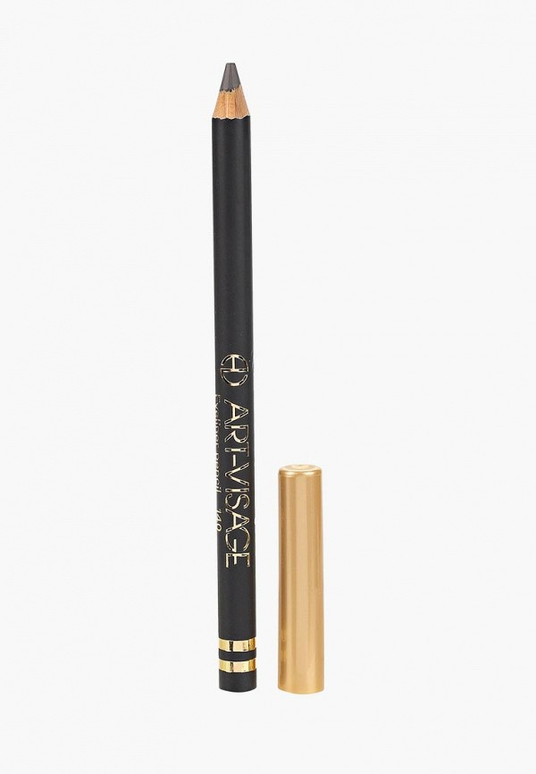 карандаш для глаз art-visage, серый