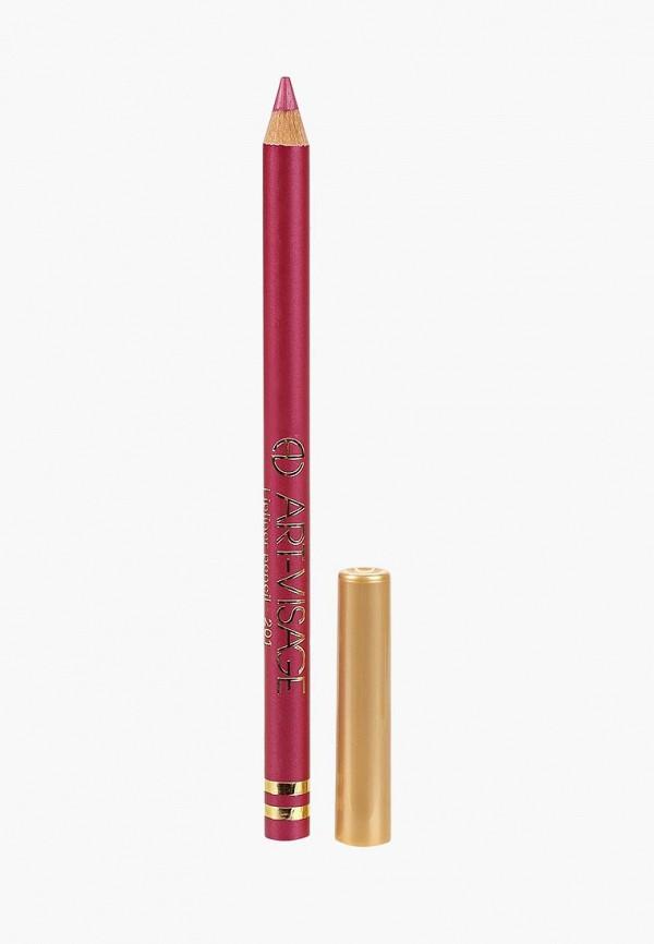 карандаш для губ art-visage, розовый