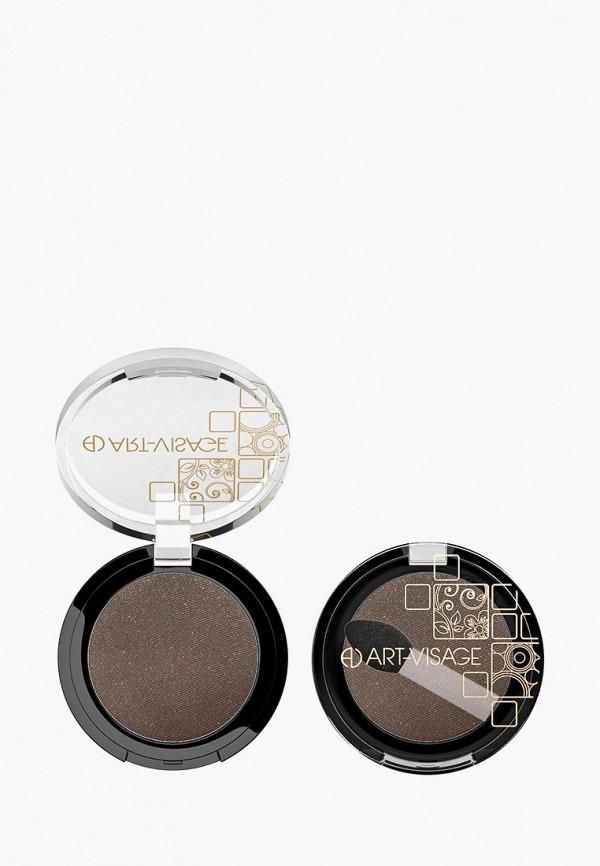 тени для век art-visage, коричневый