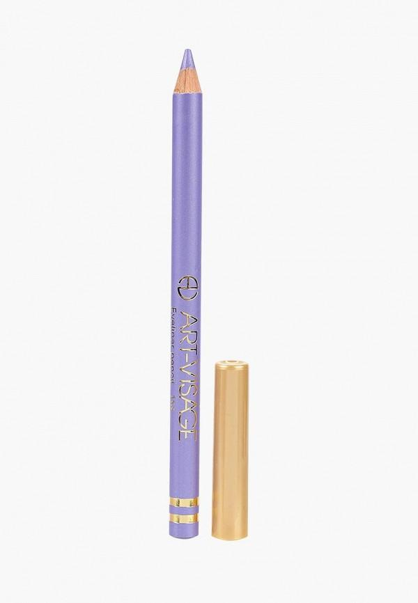 карандаш для глаз art-visage, фиолетовый