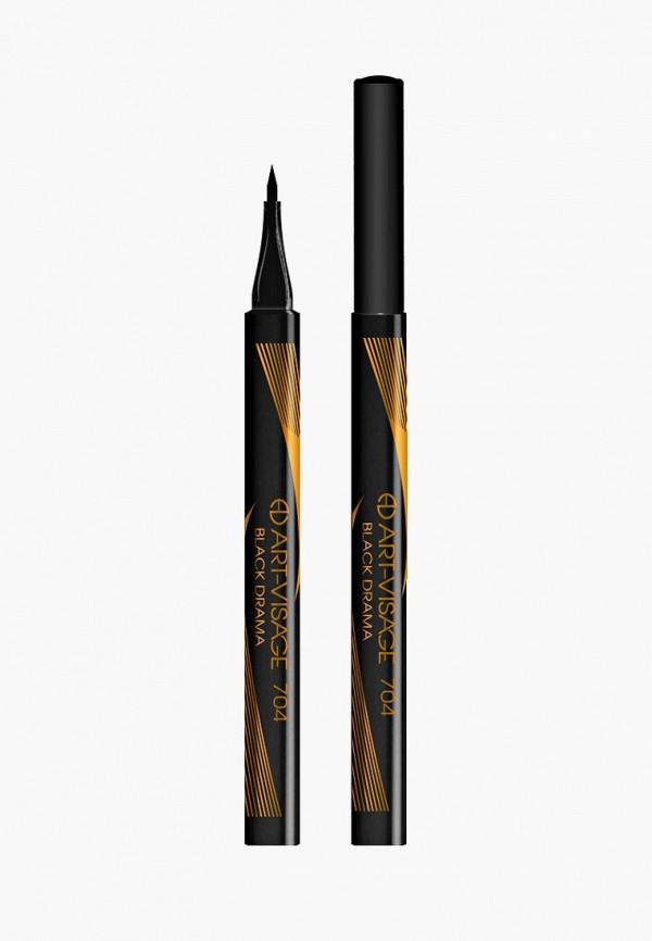 подводка для глаз art-visage, черный