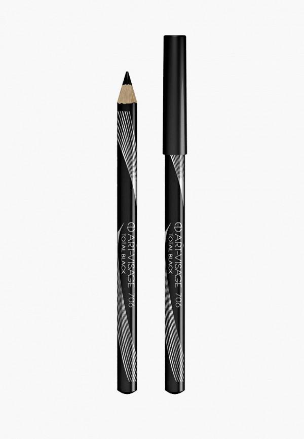 Карандаш для глаз Art-Visage Art-Visage AR044LWEZME7 подводка art visage liquid eyeliner intense черный цвет черный variant hex name 000000