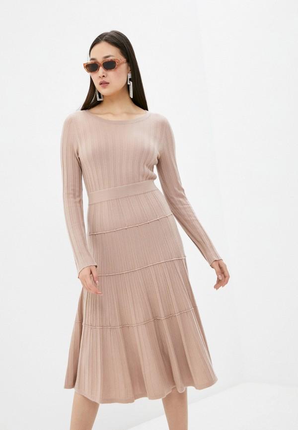 женское платье arch4, бежевое