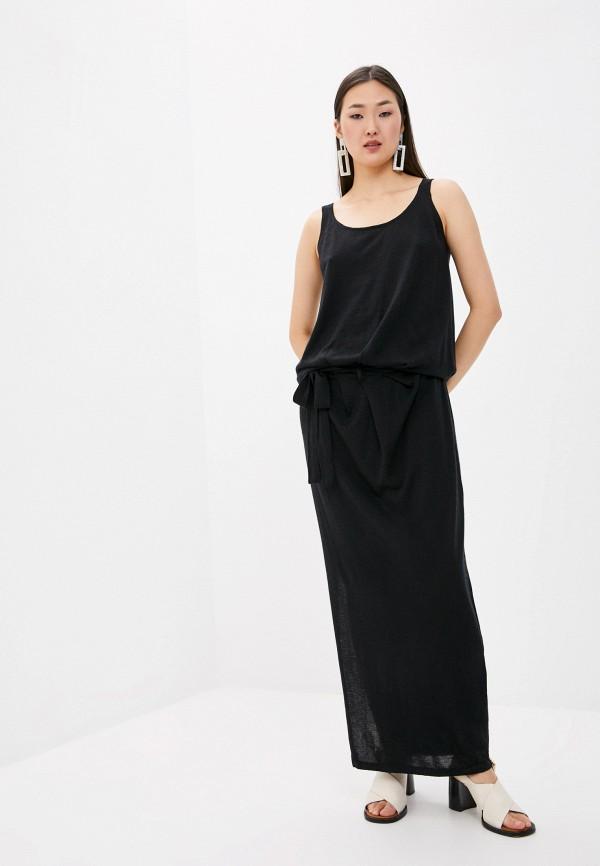 женское повседневные платье arch4, черное