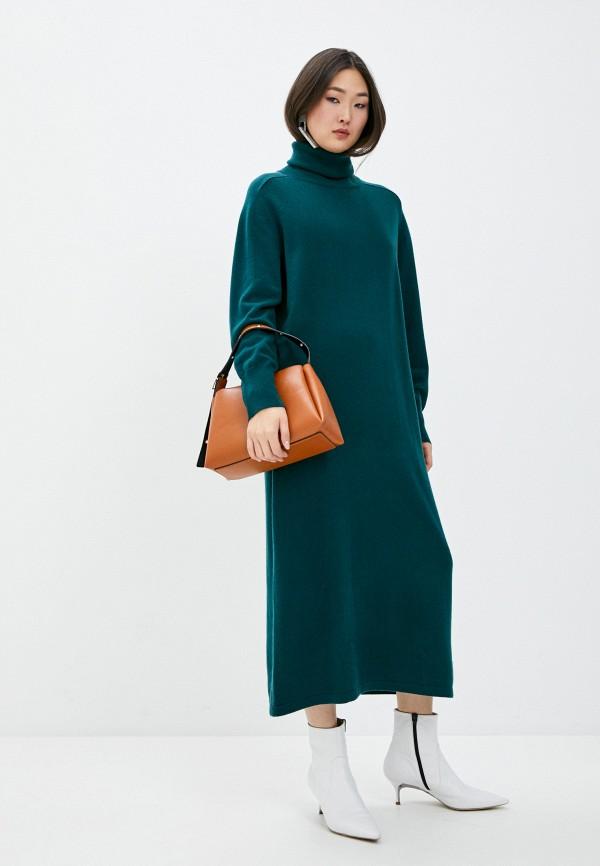 женское платье arch4, зеленое