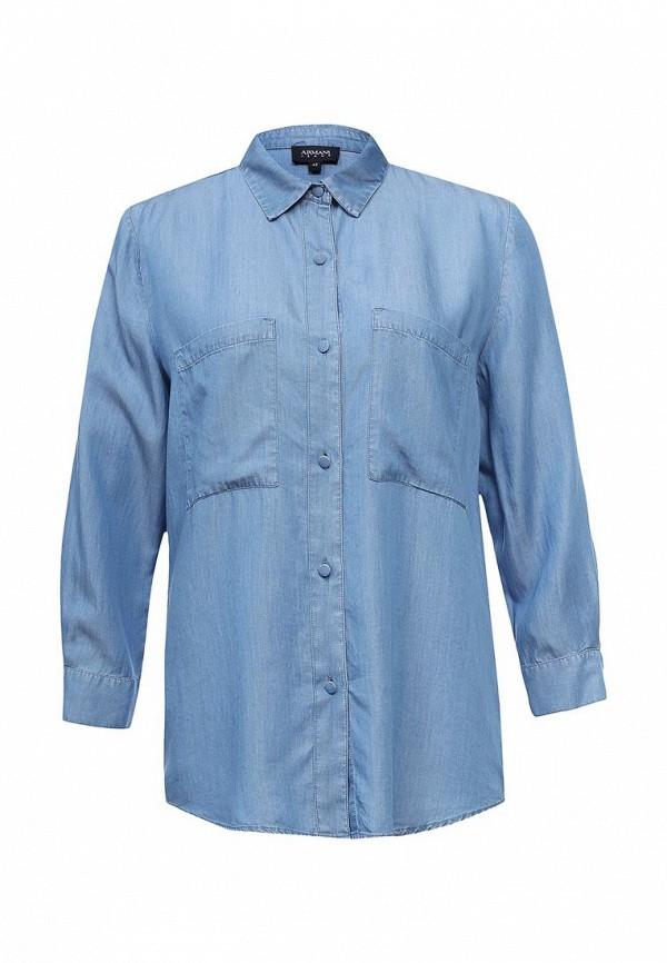 Рубашка джинсовая Armani Jeans Armani Jeans AR411EWPWF61 джемпер armani jeans 6x5m1b 5m0nz 39c2
