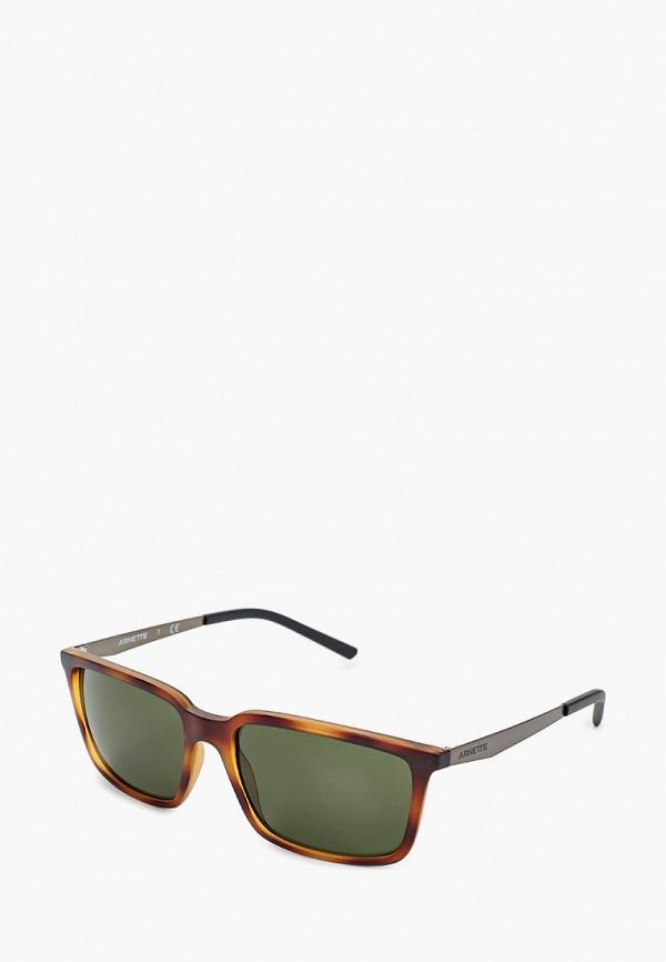 мужские солнцезащитные очки arnette, коричневые