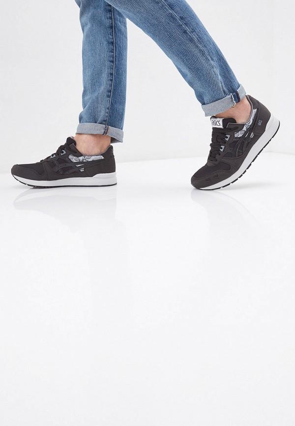 Фото 6 - мужские кроссовки ASICSTiger черного цвета
