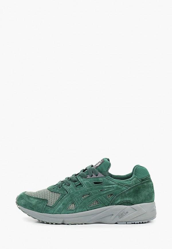 мужские кроссовки asics tiger, зеленые