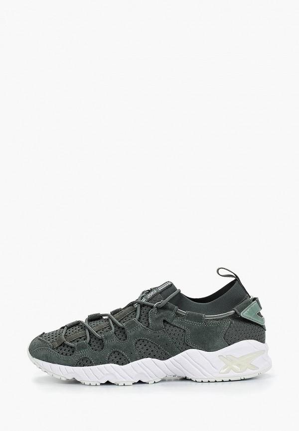 мужские кроссовки asics, зеленые