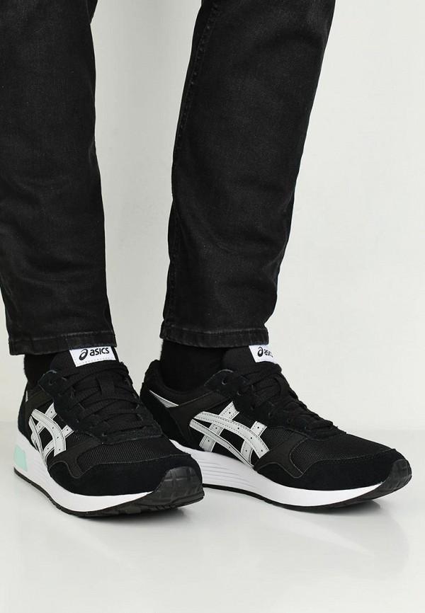 Фото 5 - мужские кроссовки ASICSTiger черного цвета