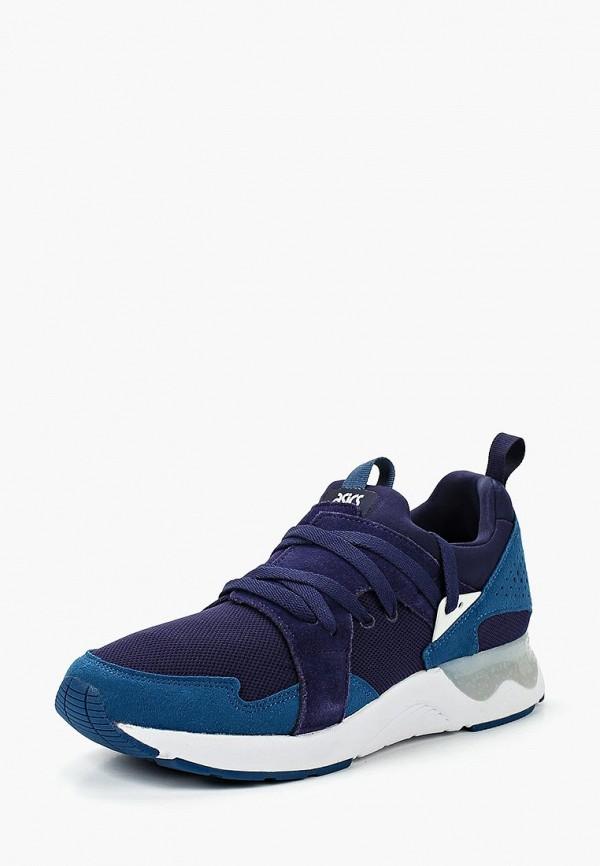 женские кроссовки asics tiger, синие