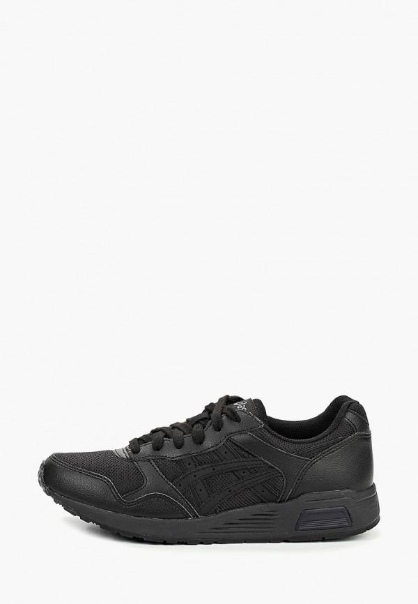 Фото - мужские кроссовки ASICS черного цвета