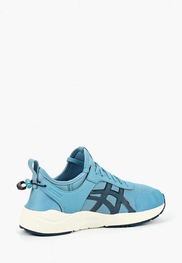 Фото 2 - женские кроссовки ASICSTiger голубого цвета