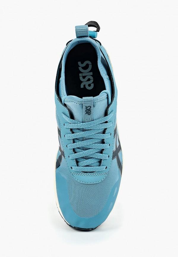 Фото 4 - женские кроссовки ASICSTiger голубого цвета